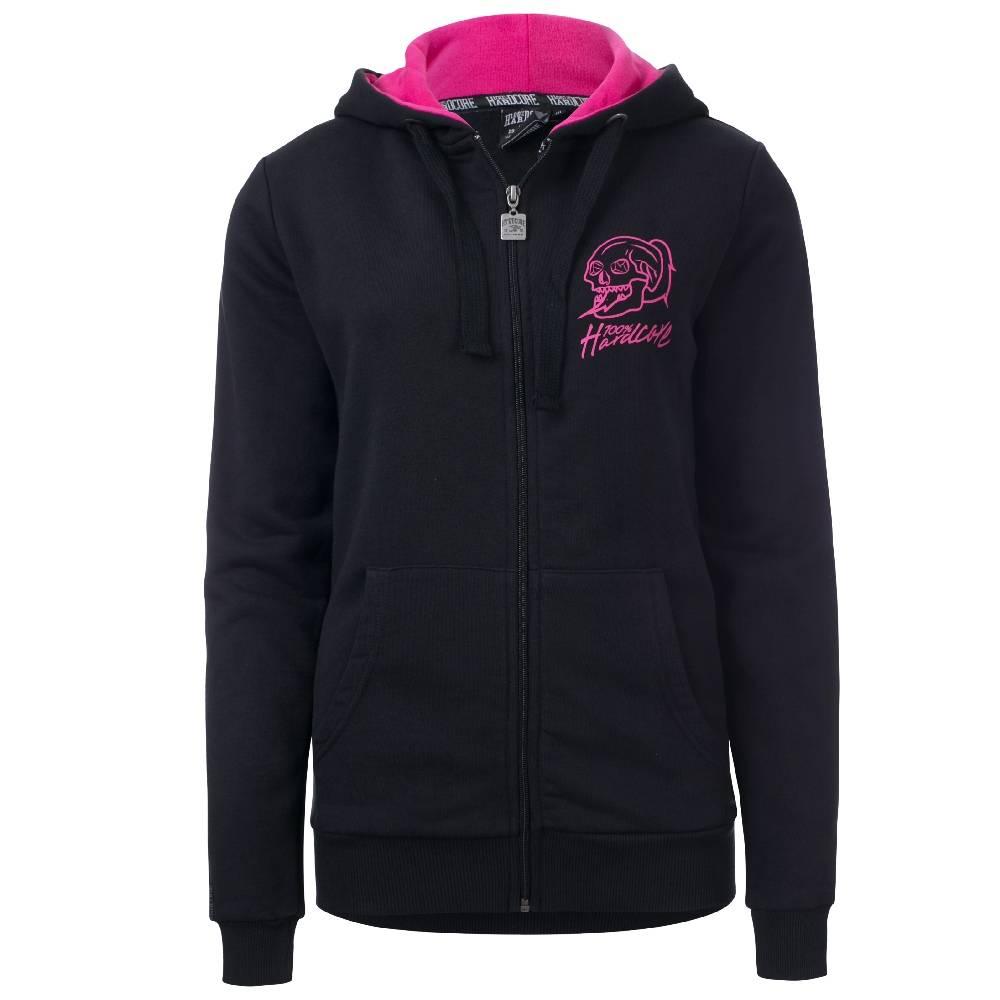 100% Hardcore Women Hooded Zipper Basic 2.0