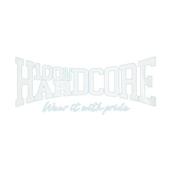 100% Hardcore Carsticker Logo