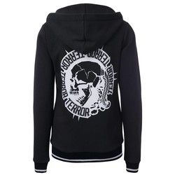 Terror Lady Hooded Zipper Circle of Death