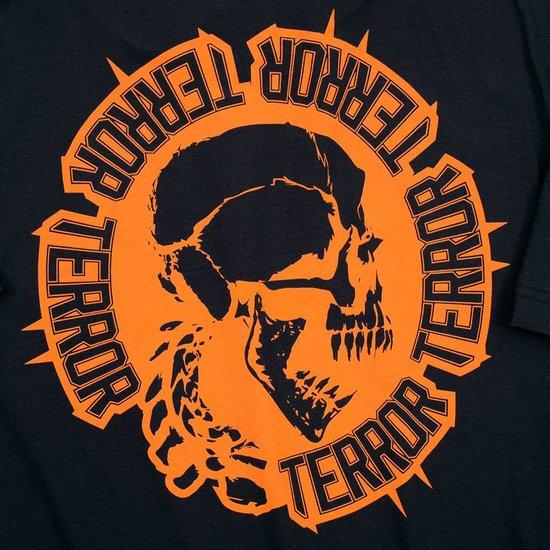 Terror T-shirt Circle of Death Orange