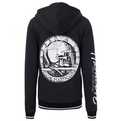 100% Hardcore Lady Hooded Zip Gabber