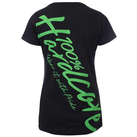 100% Hardcore Lady T-shirt Basic Green