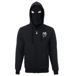 100% Hardcore Hooded Zipper Aggressive Breed