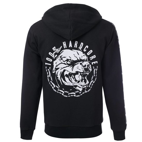 100% Hardcore Hooded Zipper Aggressive Breed
