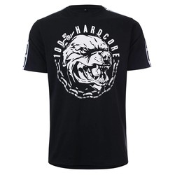 100% Hardcore T- Shirt Aggressive Breed Zwart
