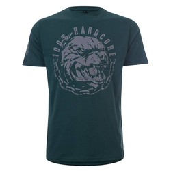 100% Hardcore T-Shirt Aggressive Breed Groen