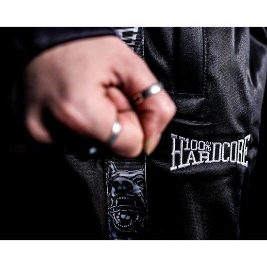 100% Hardcore Training Broek Logo Zwart / Wit