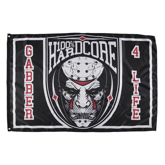 100% Hardcore Vlag Die Hard