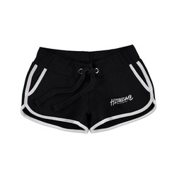 100% Hardcore Hotpants Zwart / Wit