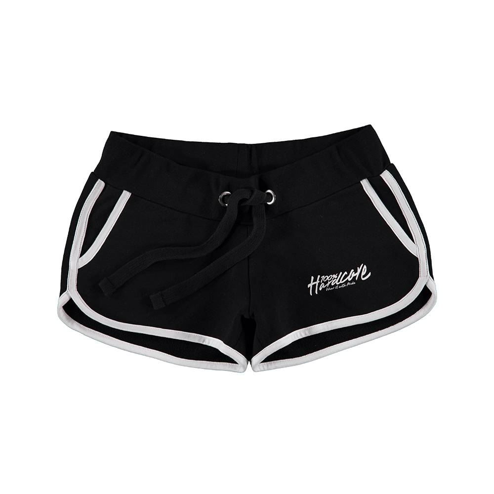 100% Hardcore Hotpants Black / White
