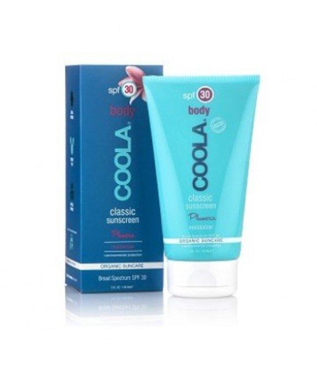 Coola Classic Sunscreen Body SPF 30 Plumeria