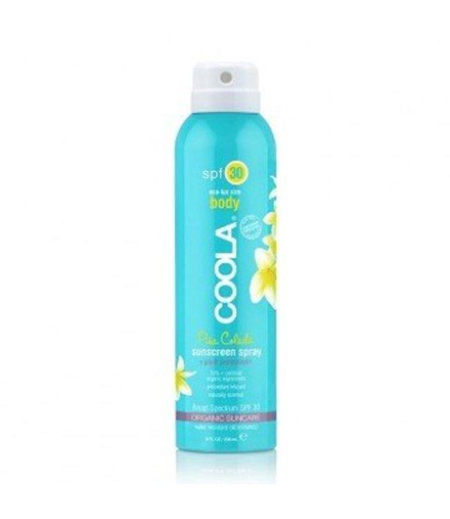 Coola Body Sunscreen Spray SPF 30 Pina Colada