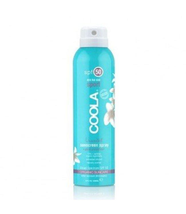 Coola Body Sunscreen spray SPF 50 Unscented