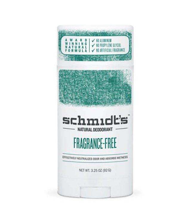 Schmidt's Fragrance Free Deodorant Stick