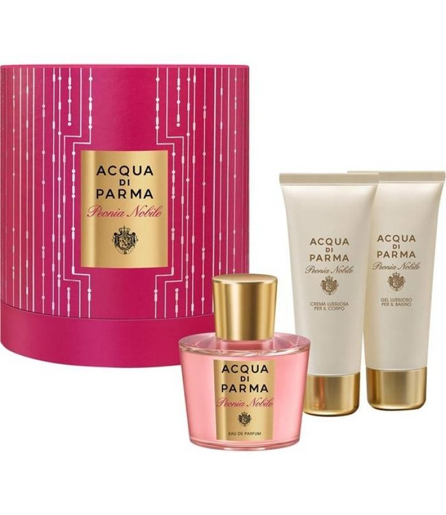 Acqua di Parma Christmas Gift Box Colonia Peonia Nobile
