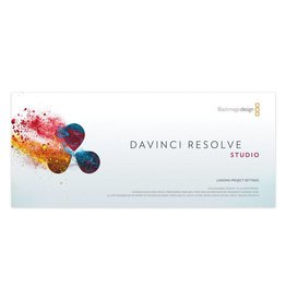 Blackmagic Design Blackmagic Design DaVinci Resolve Studio Software - current Version