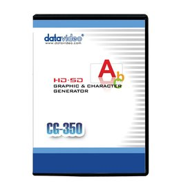 Datavideo Datavideo CG-350 HD/SD Character Generator Software