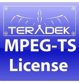 Teradek Teradek MPEG Transport Stream License
