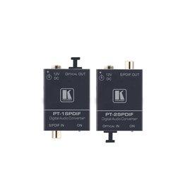 Kramer Kramer PT-2SPDIF TOSLINK® to S/PDIF Digital Audio Format Converter