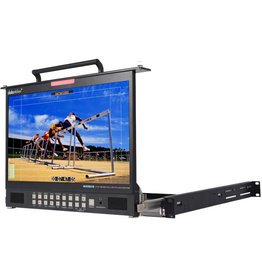 "Datavideo Datavideo TLM-170PM 17.3"" HD/SD TFT LCD 1U Foldable Rackmount Monitor"
