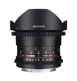 Samyang 8mm T3.8 UMC Fish-eye VDSLR CSII