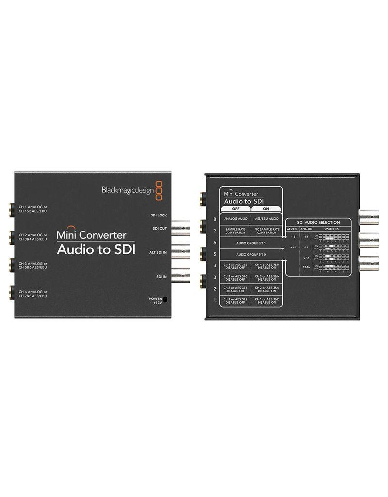 Blackmagic Design BlackMagic Design Mini Converter Audio to SDI