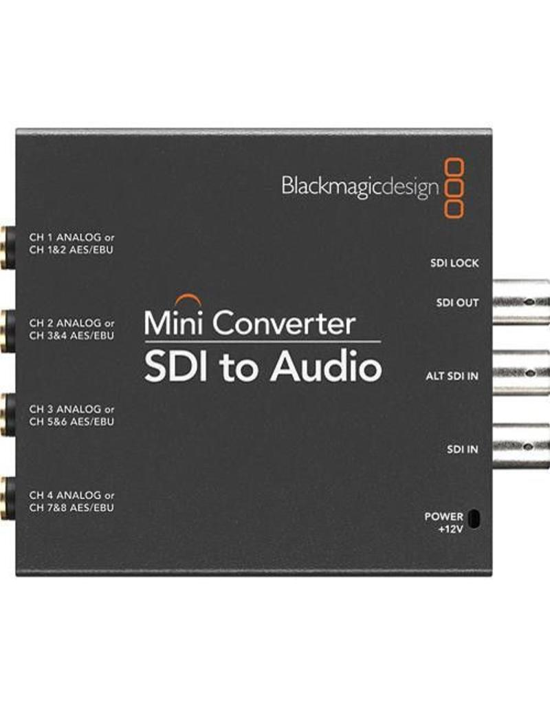 Blackmagic Design BlackMagic Design Mini Converter SDI to Audio