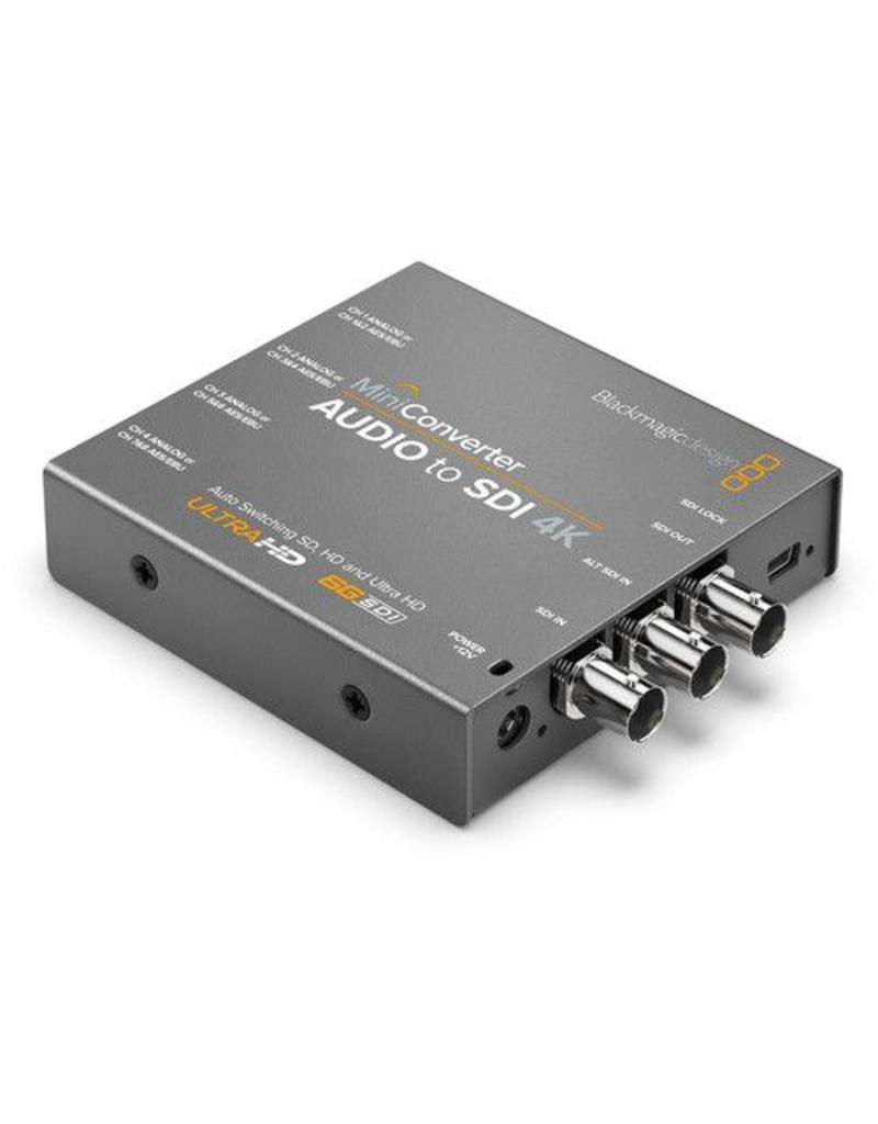 Blackmagic Design BlackMagic Design Mini Converter Audio to SDI 4K