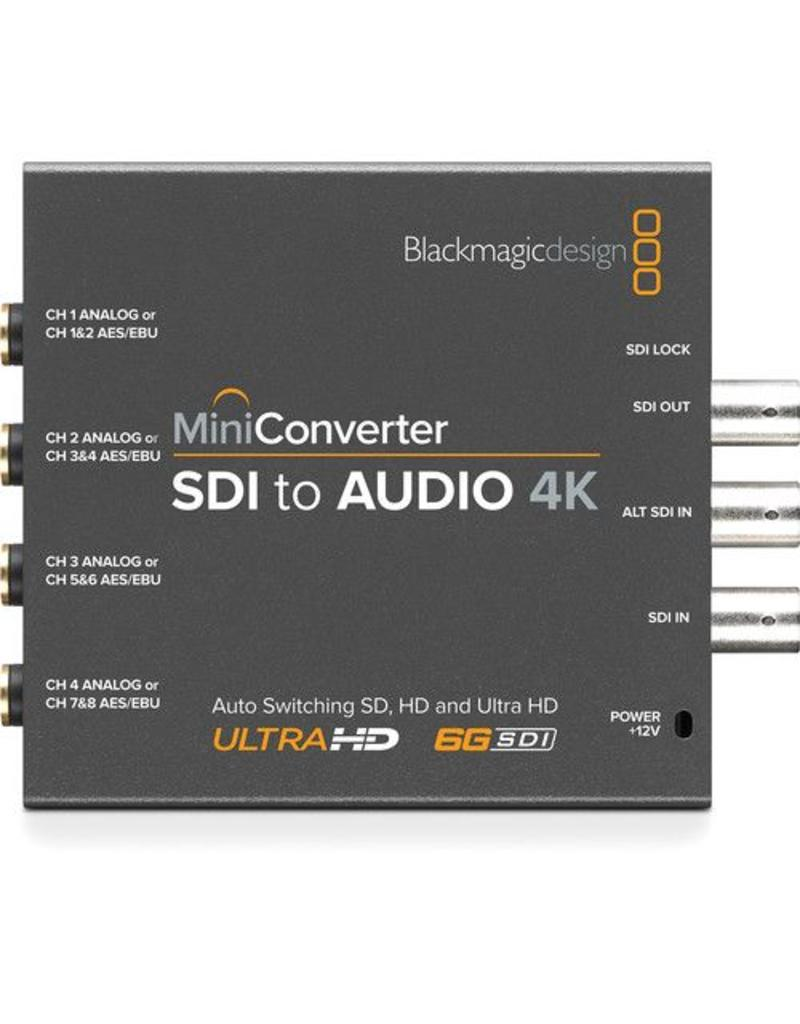Blackmagic Design BlackMagic Design Mini Converter SDI to Audio 4K