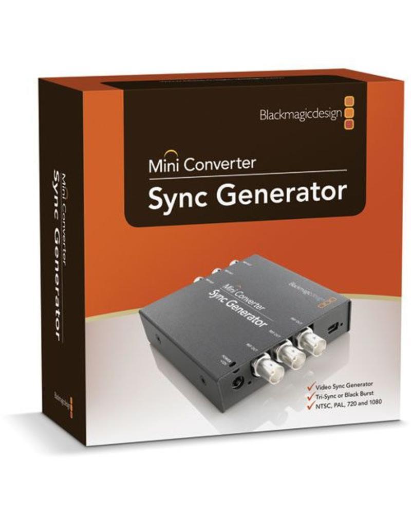 Blackmagic Design Blackmagic Design Mini Converter Sync Generator