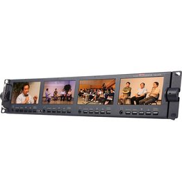 "Datavideo Datavideo TLM-434H 4 x 4.3"" HD/SD TFT LCD Monitor"