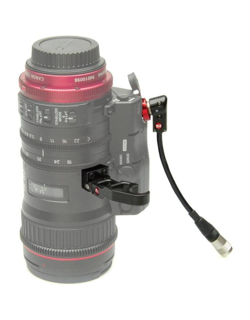 Zacuto Zacuto 18-80 Lens Support and Right Angle Cable for Canon
