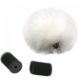 Rycote Rycote Universal Furry Lavalier Windjammer (Single) Wit