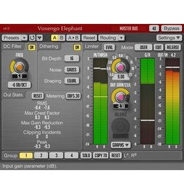 Grass Valley Grass Valley Plug-in: Voxengo Elefant Mastering Limiter VST Plug-in for EDIUS