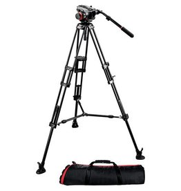 Manfrotto Manfrotto 504HD Head & 546B Aluminum Tripod Kit