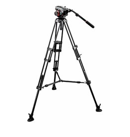 Manfrotto Manfrotto 504HD/546BK Tripod With Video Head and Midi Twin System (MS)