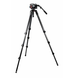 Manfrotto Manfrotto 504HD/536K Midi CF Tall System Tripod With Video Head (L)