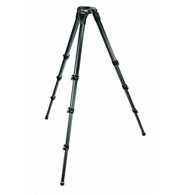 Manfrotto Manfrotto 536 MPRO Carbon Fibre 3-Stage Video Tripod, Portable and  Compact
