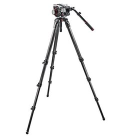 Manfrotto Manfrotto 509HD/ 536K Kit - Pro Single CF Kit 100