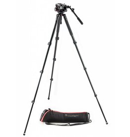 Manfrotto Manfrotto 504HD Fluid Head & MVT535AQ Tripod Kit
