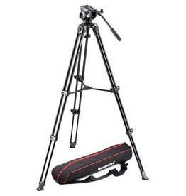 Manfrotto Manfrotto MVH500A Fluid Head & MVT502AM Tripod