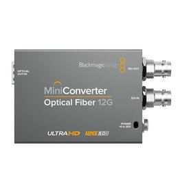 Blackmagic Design Blackmagic Design Mini Converter Optical Fiber 12G