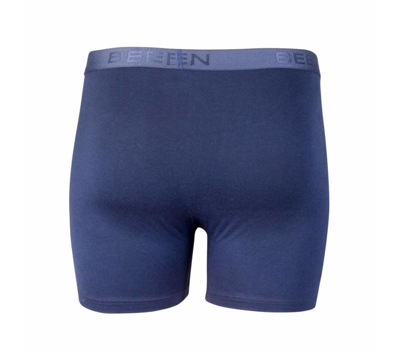 heren boxershort met gulp blauw