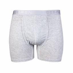 heren boxershort met gulp L-grijs
