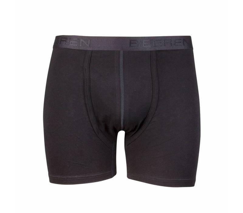 heren boxershort met gulp zwart