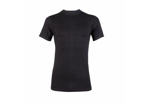heren comfort feeling T-shirt zwart