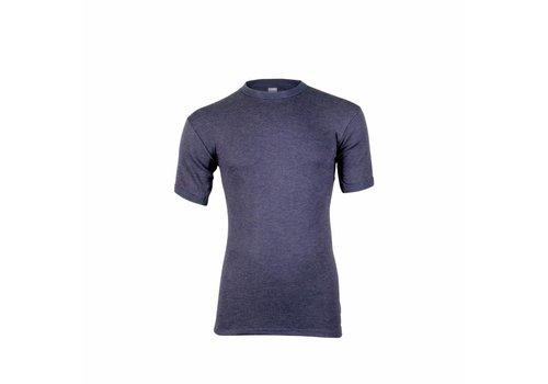 Beeren Heren Shirt Korte Mouw Thermo Marine