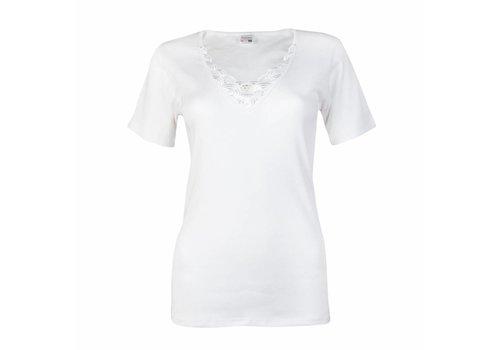 dames T-shirt beatrix wit