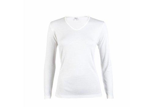 Beeren Dames Thermo Shirt Lange Mouw Wit