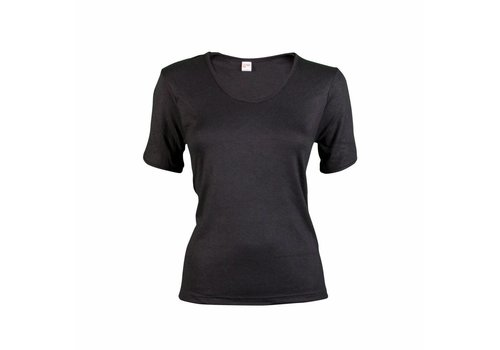 Beeren Dames Thermo T-Shirt Zwart